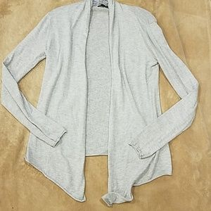 [EXPRESS] Open Cardigan Lt Gray M